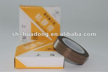 High sealing PTFE coated fiberglass adhesive tape/fabrics for bag sealing
