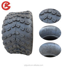 Customized natural rubber atv wheel colormetal rim atv tire 19x7-8
