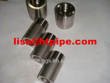 duplex stainless ASTM A182 F53 threaded half coupling