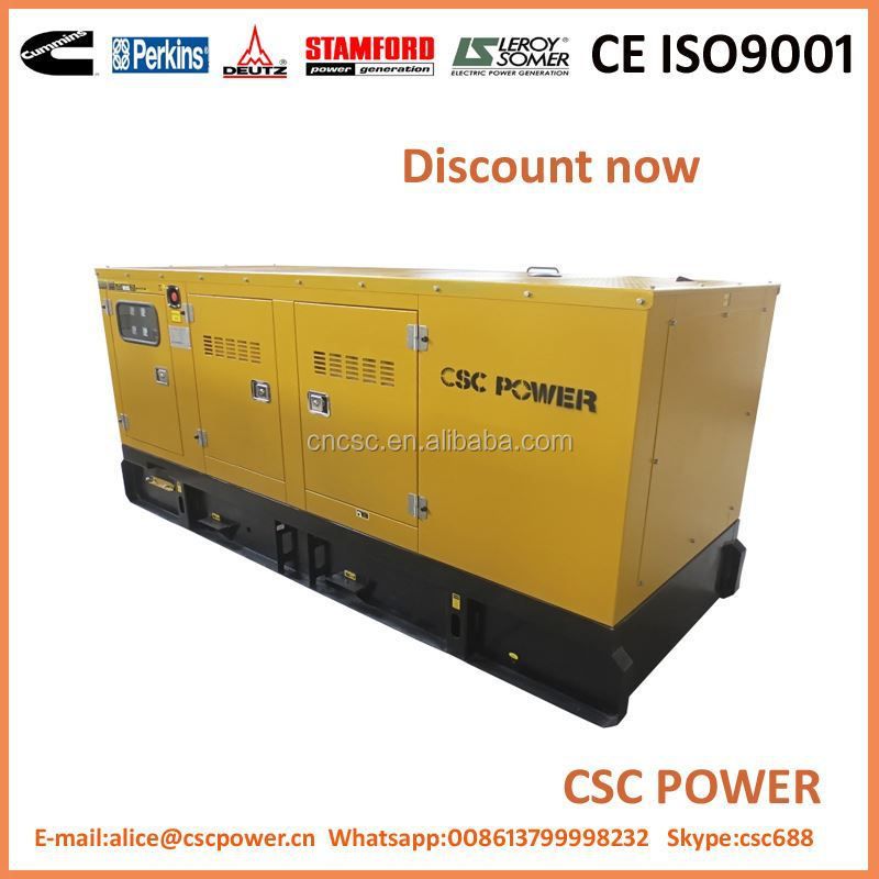 with with perkins engine silent 400kw diesel generator set