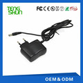 TengShun UL approved output dc 6v 300ma 500ma usb wall charger lead acid battery charger