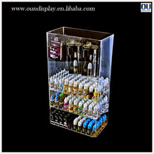 retail shop acrylic display case for electronic cigarette e-liquid kits
