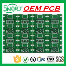Smart bes~Shenzhen No MOQ PCB Double Sided HASL 2 oz Copper Black Solder Mask Electronic PCB with FR4 Material