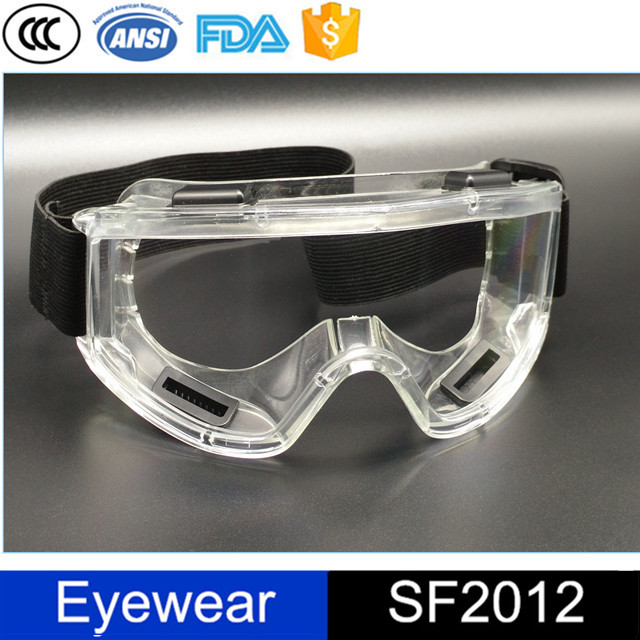 sample ansi approval windproof anti-fog dust-proof cutting safety glasses