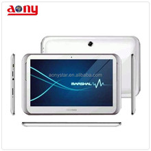 high quality slim stylish design dual core 3G+TV+android cheapest tablet pc with sim card slot