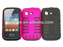 For SamSung S5300 Galaxy Pocket TPU+PC Combo Case