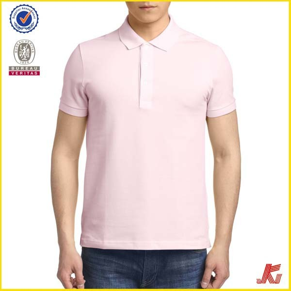 2015 hot sale new design polo t shirt, round neck with button men polo shirtts