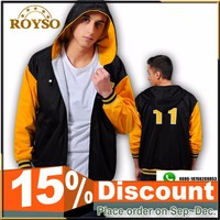 Custom School College Sport Team Hoodies Hooded Jacket