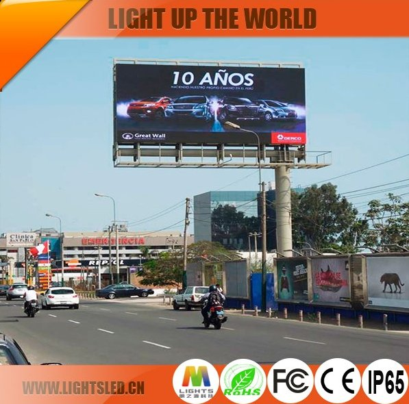 P10 Led Display Outdoor tv screen module price , outdoor led display advertising screen panel price