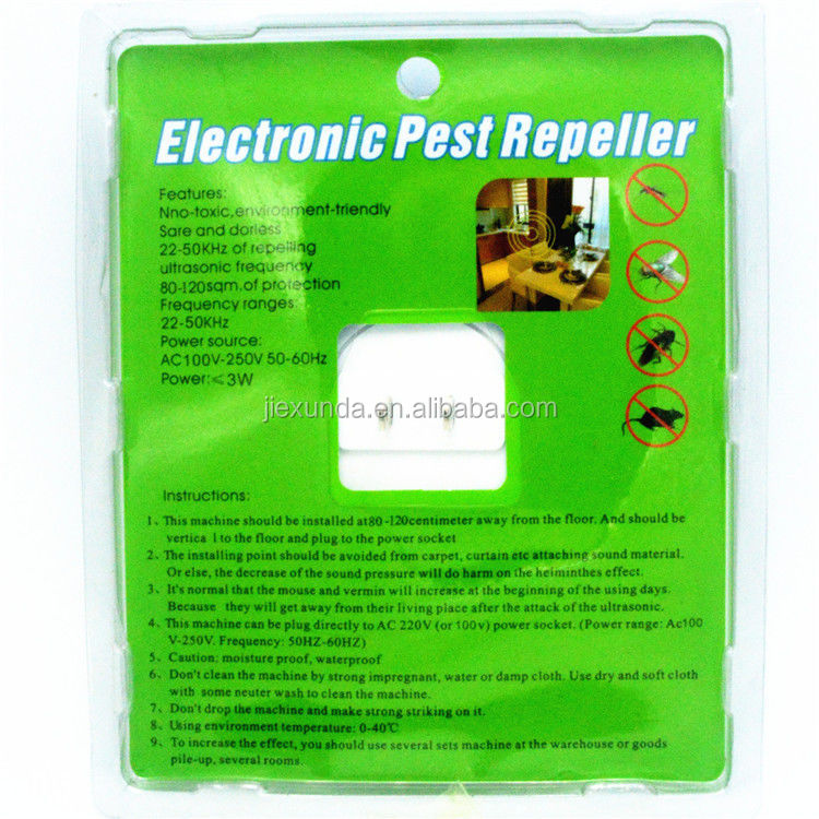 Ultrasonic Electronic Mosquito Mice Rat Bee Repellent Anti Mosquito Repeller Mosquito Killer Pest Reject Multifunctional
