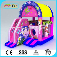 CILE Flower Fairy House Design Inflatable Jumping Castle