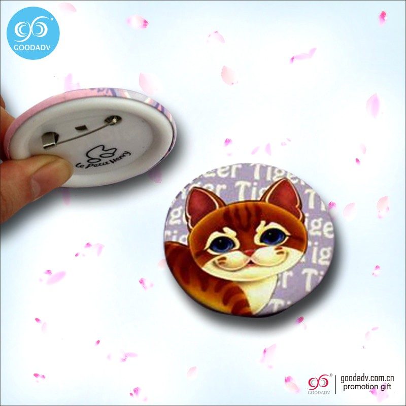 Hot Sale Cheap Promotional Gifts Round Plastic Badge