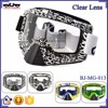 BJ-MG-013 New arrival Clear Letter Frame motorcycle goggle motorcycle glasses