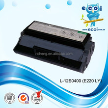 Best selling with high quality wholesale toner cartridge 12s0400 for E220