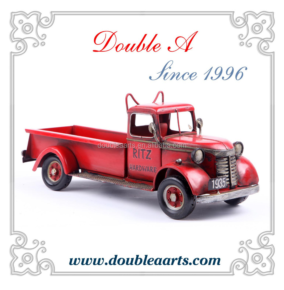 Wholesale truck model metal model car iron craft car decorative home decor handmade decoration
