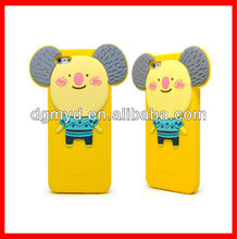 New Cartoon 3D Silicon Animal Case for iphone 4 4S
