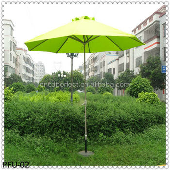 Foshan factory good selling garden umbrella