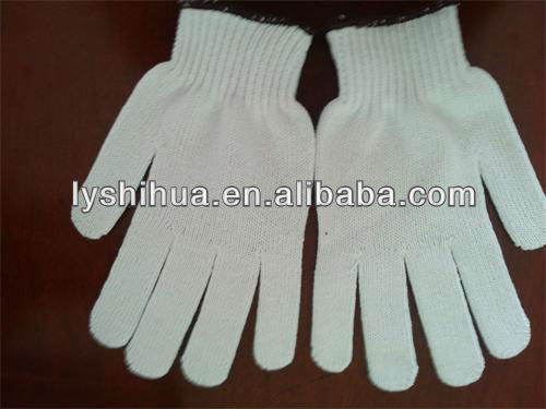 600g bleached white gloves TCB