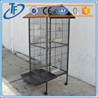 Hot sell heavy duty three door dog cage and dog cage dog cage for sale