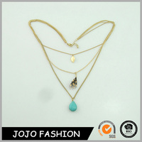 Factory Price wholesale native turquoise product fashion different types of gold necklace chains jewelry designs