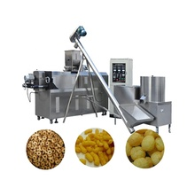 Factory price puff corn machine puff corn snack food processing line puff snack extruder