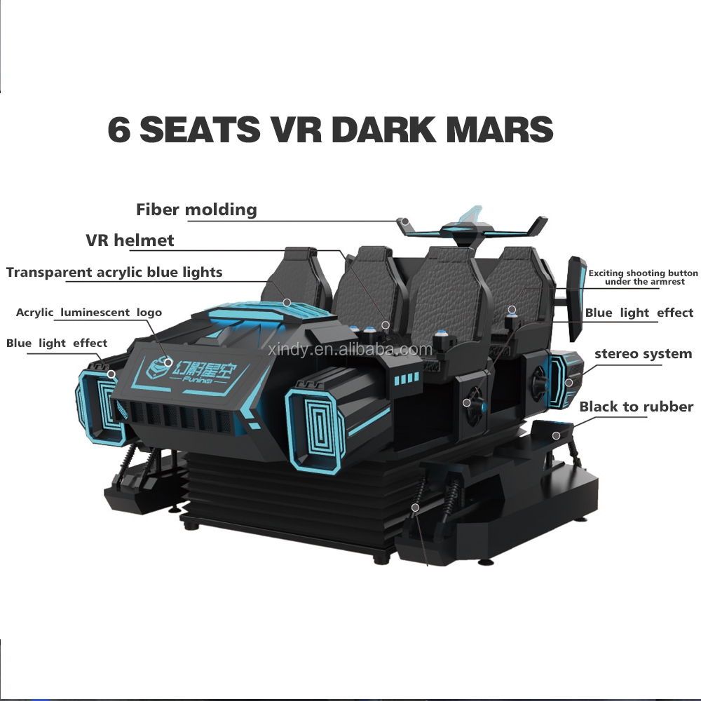 virtual reality equipment vr gaming car 360 degrees electric virtual reality vr 3d glasses virtual reality shooting training