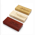 Promotion Rectangle Factory Wholesale USB flash drive Wood shape Eco-friendly wood High popular Personalized logo gifts