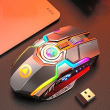 Gaming <strong>Mouse</strong> <strong>Wireless</strong> Ergonomic Game <strong>USB</strong> Computer <strong>Mice</strong> RGB Gamer 6 Buttons Desktop Laptop PC Gaming <strong>Mouse</strong>
