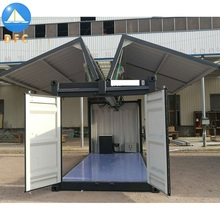 20ft 40ft Hydraulic Doors Mobile Show <strong>Containers</strong> for Sales