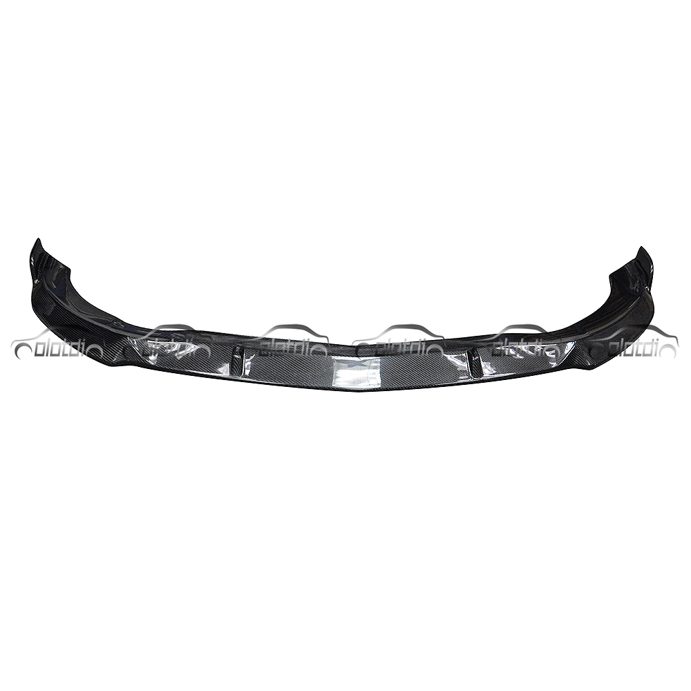 B style Carbon Fiber Front Bumper Lip Splitter For Mercedes Benz <strong>W117</strong> CLA AMG CLA45 2015 up