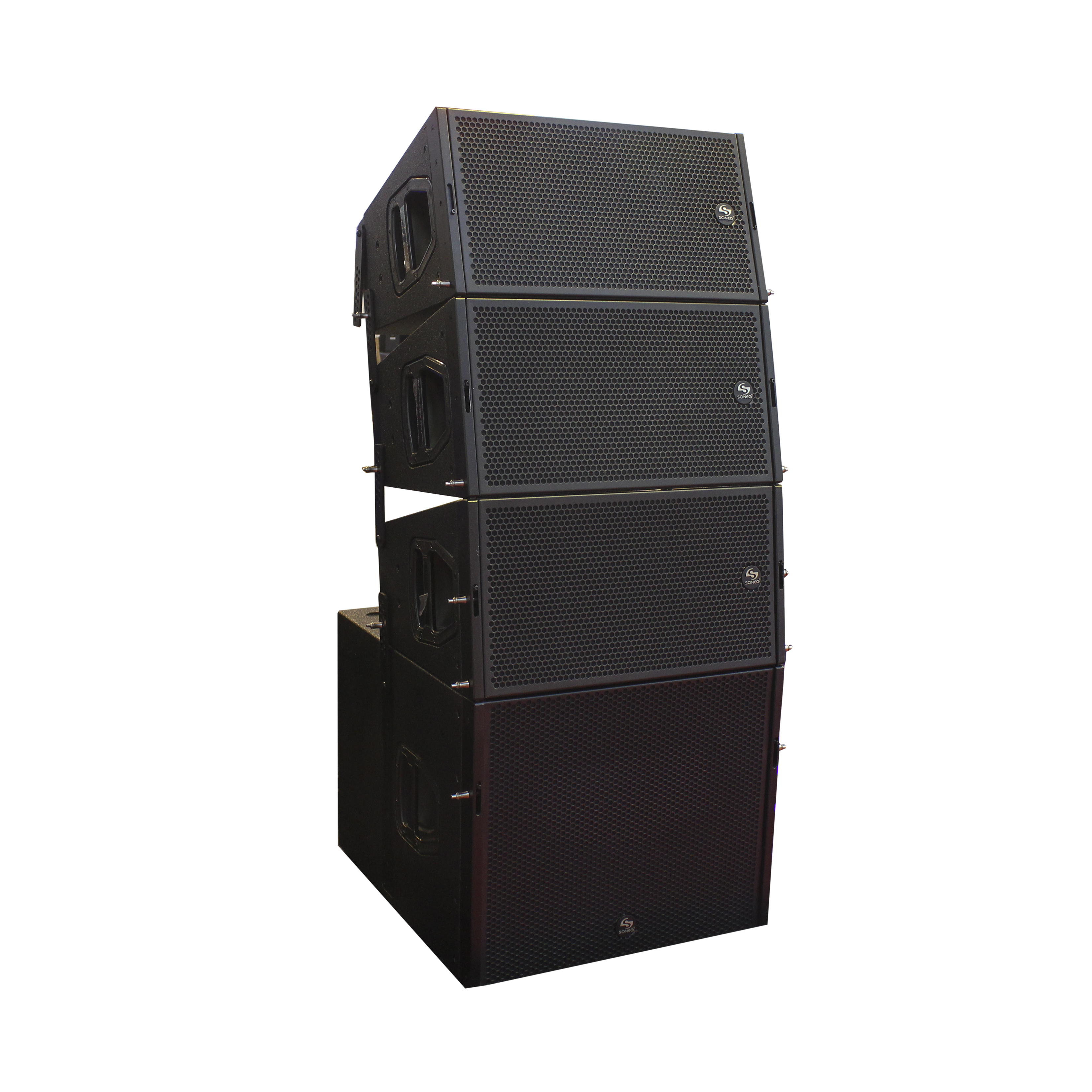 High quality class <strong>d</strong> amplifier 2 way DB active dual 10 inch db line array system speaker