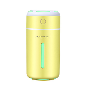 Romantic LED Light Color Cup Humidifier USB Mini Humidifier Cool Mist Humidifier