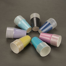 Wholesale Rainbow Color Coffee <strong>Paper</strong> Cup For Disposable <strong>Paper</strong> Cup