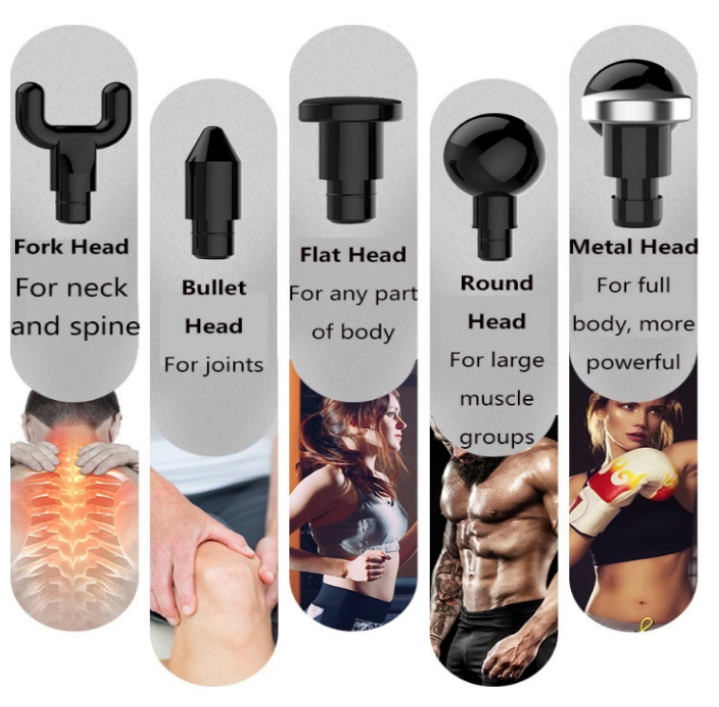 Muscle relax therapy massage gun for sport portable rechargeable 5 speed cordles massage gun