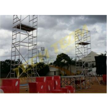 Portable Mobile Aluminum Platform ,High Quality Scaffold truss and Easy to Assemble