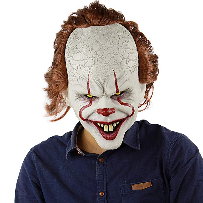 Pennywise Mask Stephen King/'s IT