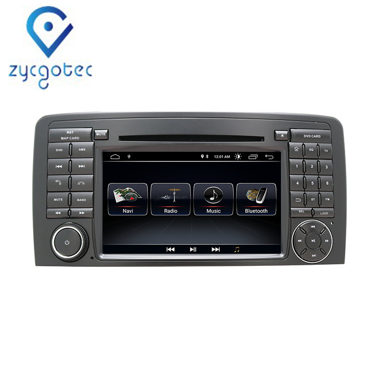ZYCGOTEC <strong>Android</strong> 9.0 2din Car DVD Multimedia Player For Mercedes Benz ML-Class <strong>W164</strong> 2005-2012/GL-Class X164 2005-2012 GPS Radio