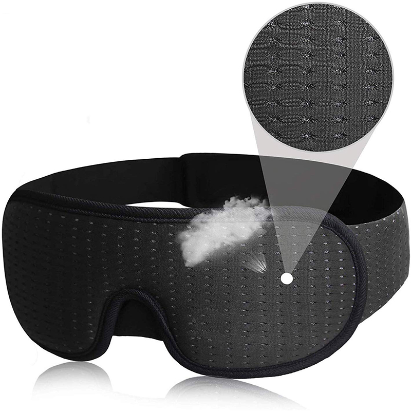 Breathable Sports mesh 3D Hidden Nose Eyeshade Sleeping <strong>Eye</strong> Mask Portable Travel Sleep mask