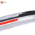 17-19 Hot selling Side Skirts Carbon Fiber Car Black Front and Rear 2.5m water transfer Bumper side skirts for crv