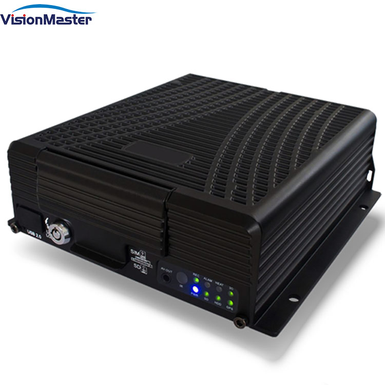 <strong>4</strong> <strong>channels</strong> 720P/1080P AHD black mdvr with wifi for car