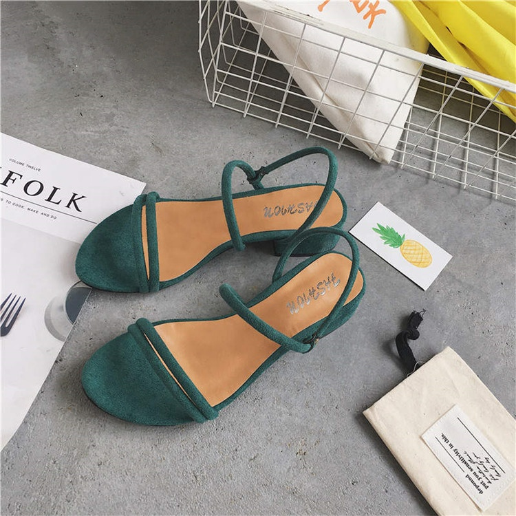 Wholesale High Quality Flat Heel Women Low Heel <strong>Sandals</strong>