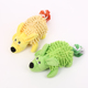 In stock funny durable plush animal squeaky dog toy for pet dog toy with rope