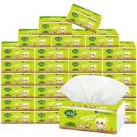FSC soft facial tissue and white facial tissue and 4ply facial tissue