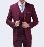2019 latest design groom wedding pictures men's coat pant designs wedding suit made in china