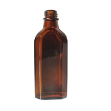 <strong>100</strong> ml amber glass bottle rectangular flask, small wine glass bottle, wine bottle