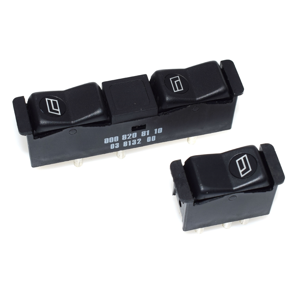 2 PCS Power Window Switch Interior Door FOR Mercedes-Benz W123 W126 W201