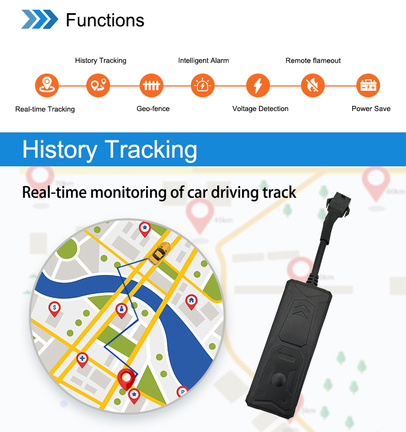 Hot selling Car Vehicle Asset GPS Tracker Wholesale Retail