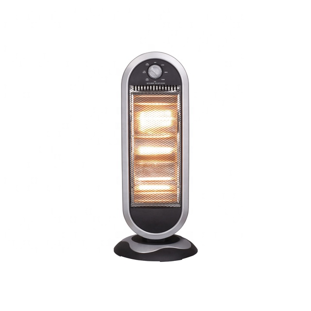 <strong>Halogen</strong> Heater for Home 1200W Black color Living House Room Office Bedroom