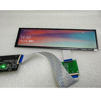 Shelf display 8.8 inch 1920x480 stretched LCD HDMI DSI MIPI display with USB 5V power supply
