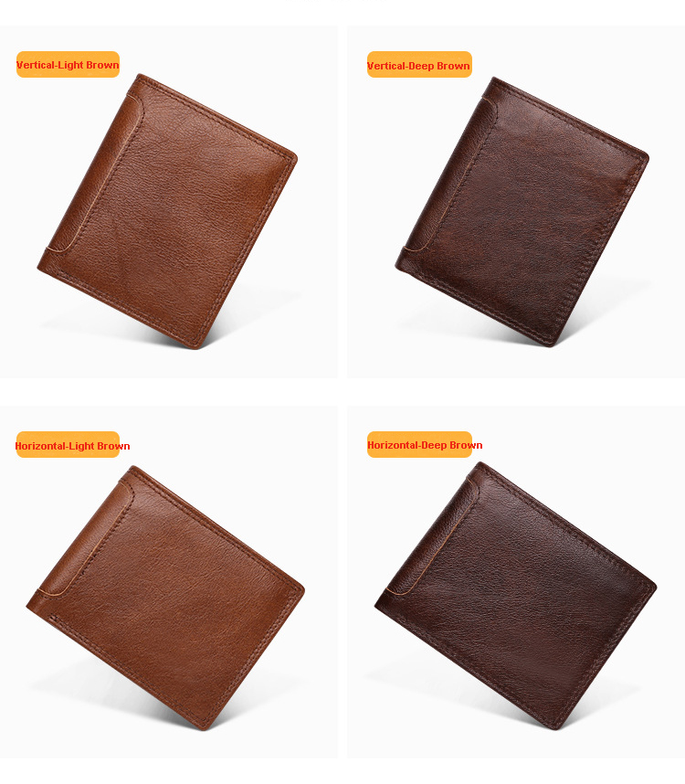 30% off  2019 New Arrived Custom Gift Multifunctional Private Label Card Holder Men's Leather Wallet